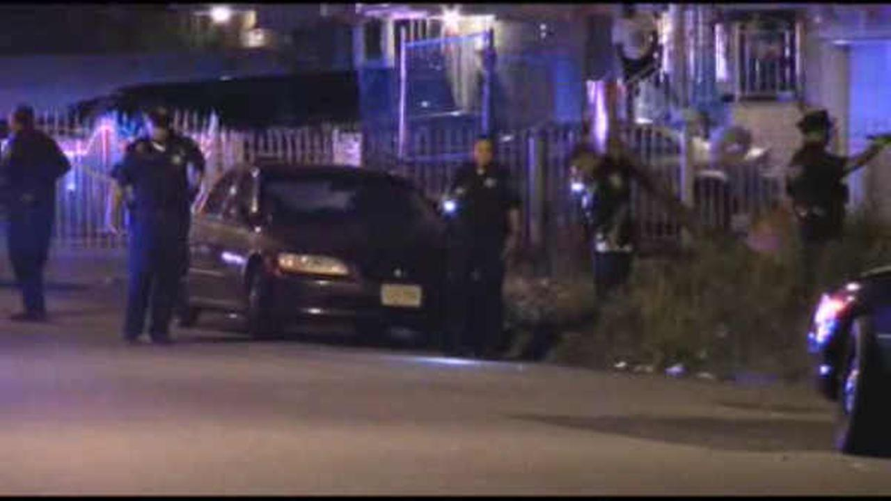 3 suspects arrested after drive-by shootings in 2 locations in Newark