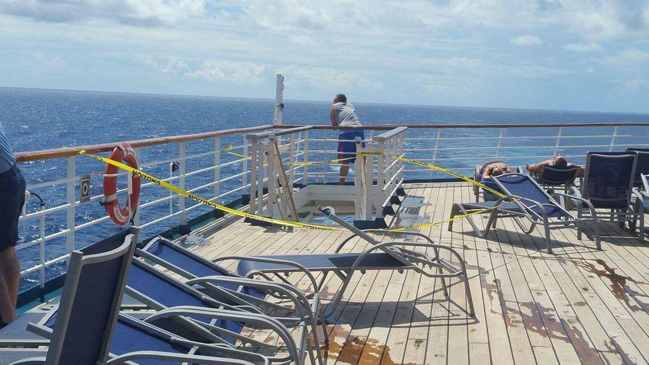 Search continues for NY woman who went overboard on Carnival Ecstasy cruise ship