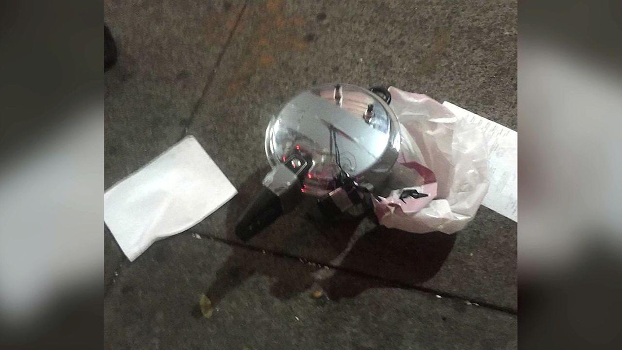 Second device -- possibly a pressure cooker -- found 4 blocks from Chelsea explosion