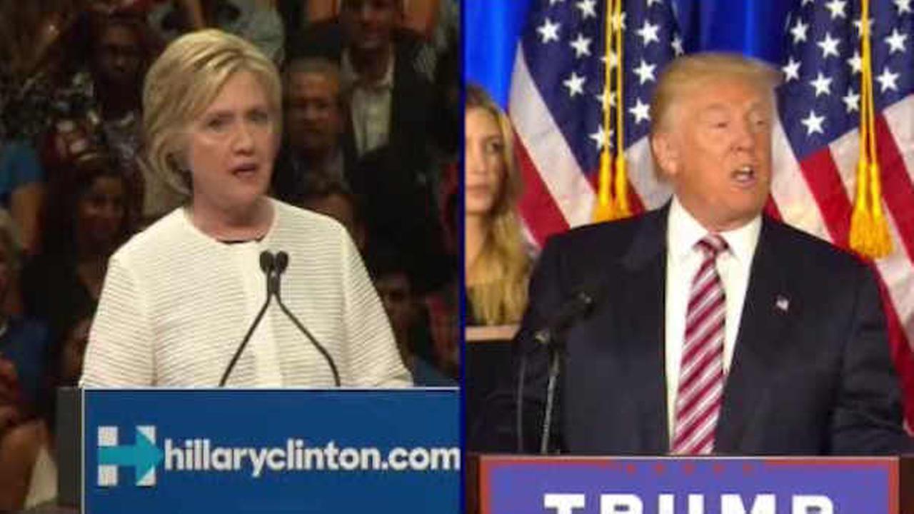 Clinton, Trump meet separately with Israel PM Netanyahu ahead of debate