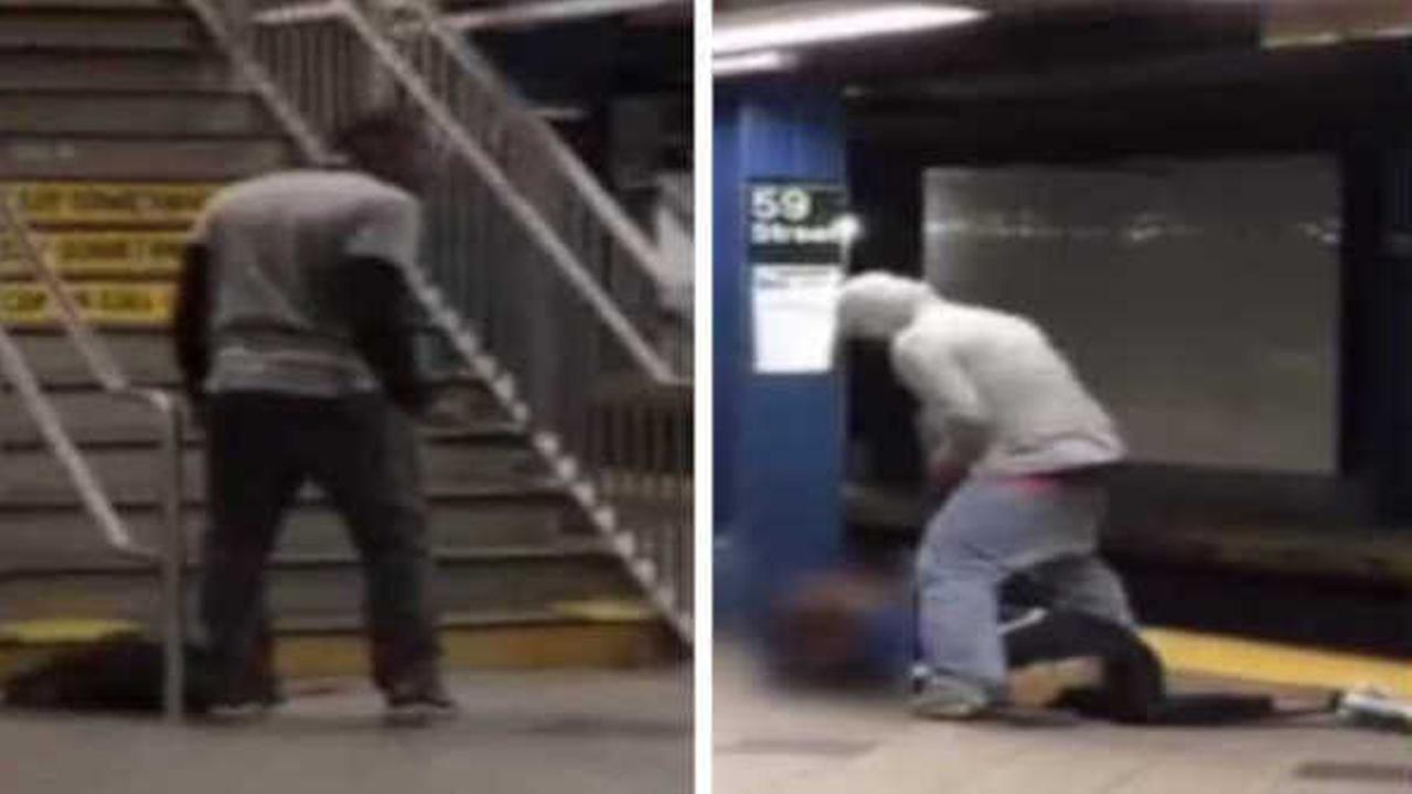 Man punched, kicked, robbed at Columbus Circle subway station