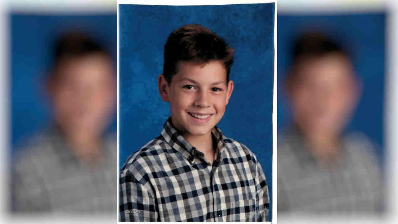 Nickolas Donnelly, 14, was last seen at 10 a.m. Tuesday at his Chambord Court home in Shoreham.