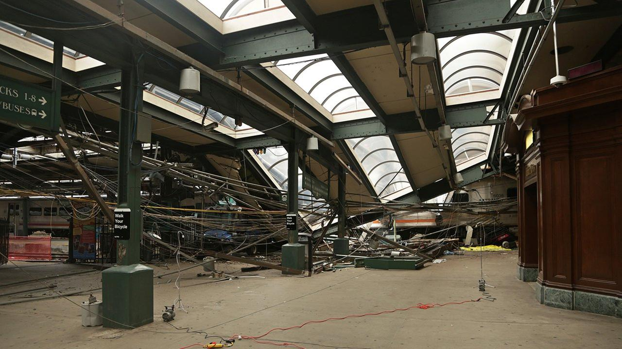 hoboken terminal train crash