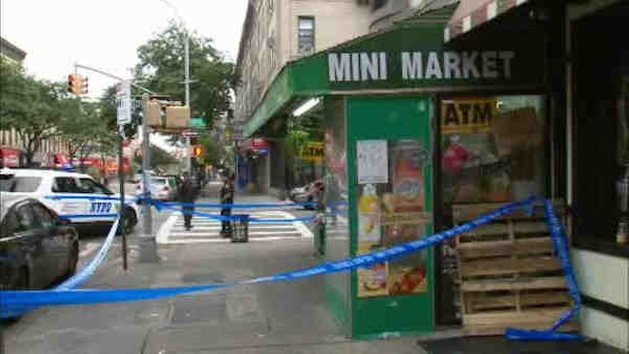 Four men were shot in a dispute on Third Avenue in Bay Ridge early Saturday.