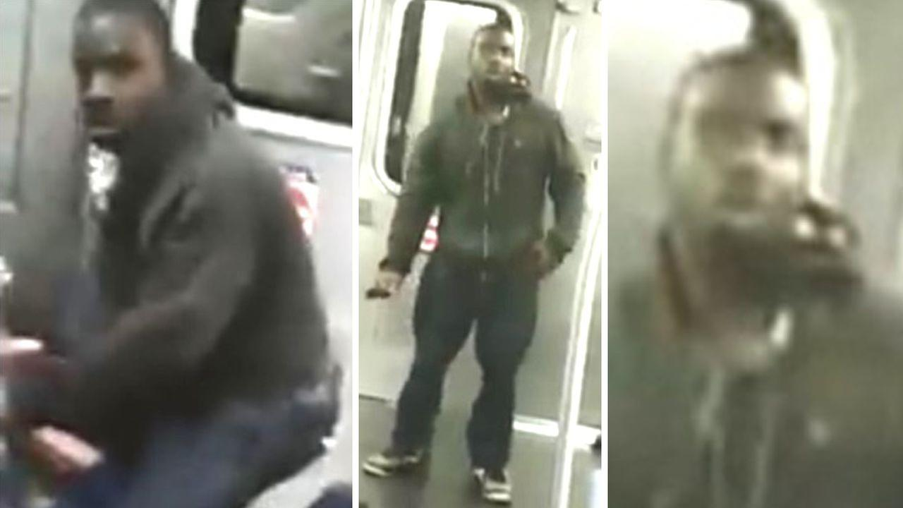 Robbery on M subway in Brooklyn leaves man with cut face, broken rib