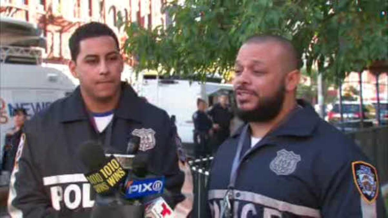 NYPD officers help mother, unresponsive 1-year-old girl