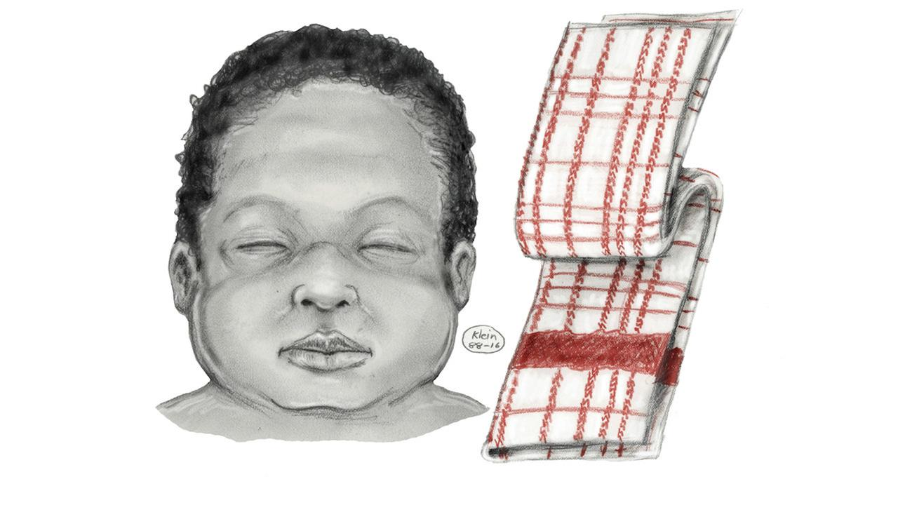 NYPD releases new sketch of newborn girl in 1993 cold case homicide