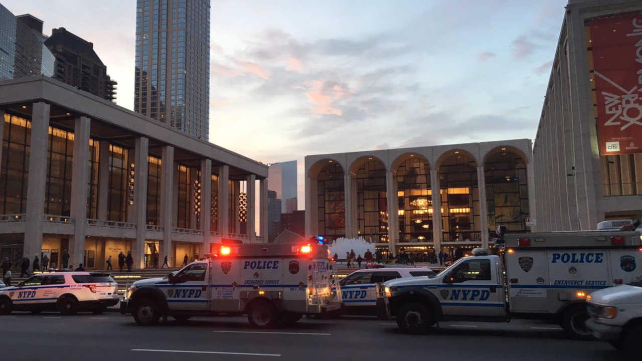 Metropolitan Opera cancels show after 'suspicious substance' thrown into orchestra pit