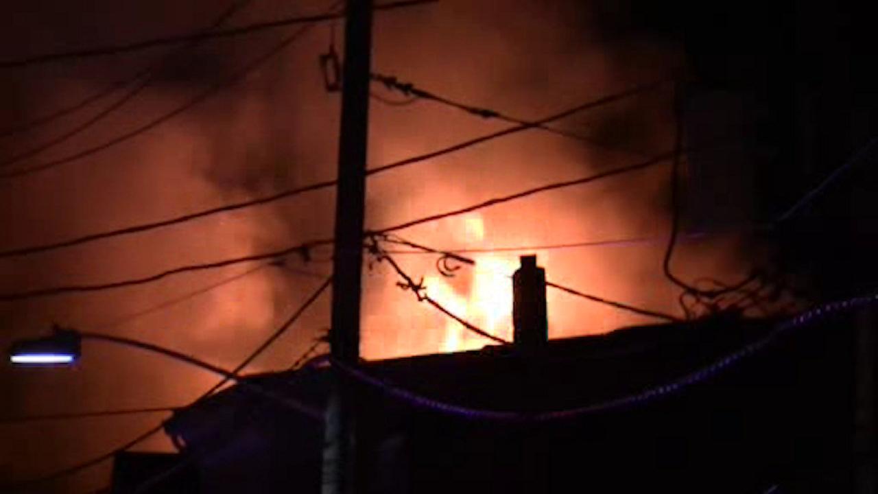3-alarm fire burns through home in West Orange