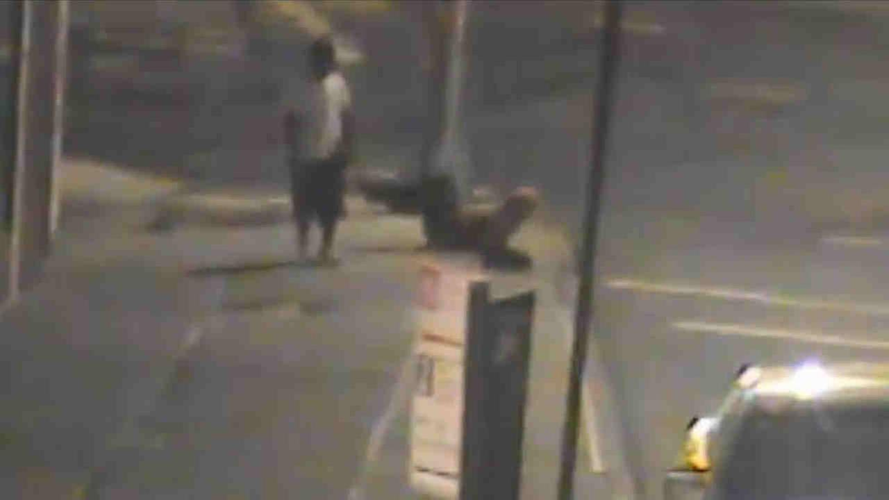 Police are looking for a man and a woman wanted in a punching attack in Queens.