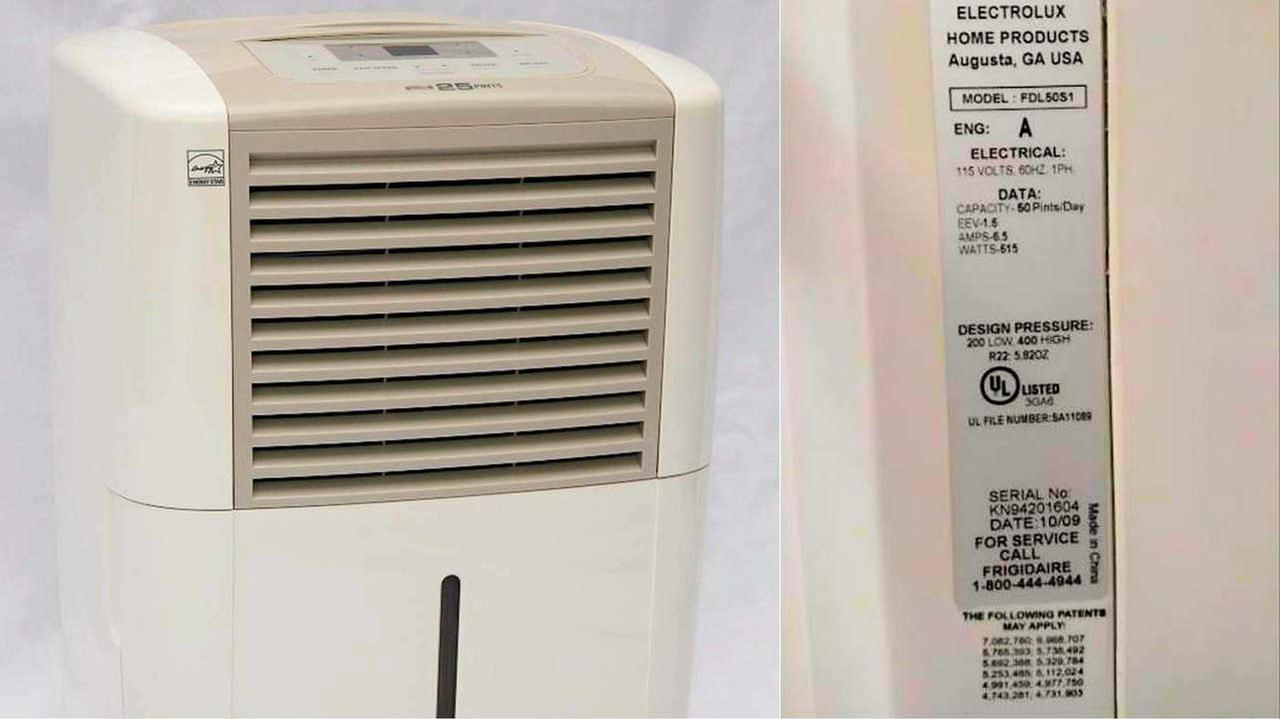 3.4 million dehumidifiers recalled over overheating, fire risk