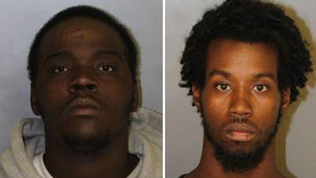 Brian P. Moore (left) and Tahje M. Hunt (right)