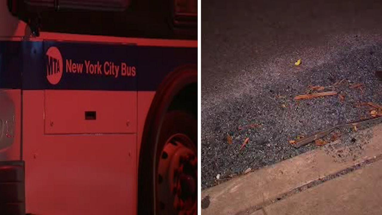 Stolen MTA bus crashes in Staten Island