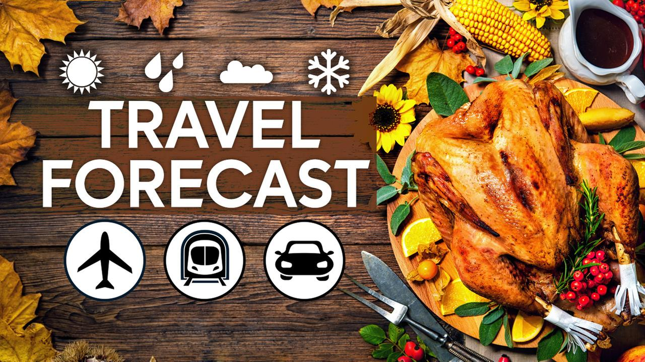 Your Wednesday travel forecast broken down by region