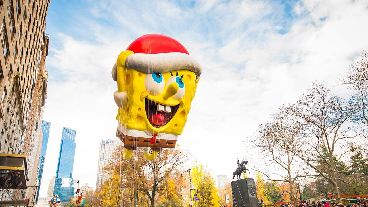 macys thanksgiving day parade balloon spongebob