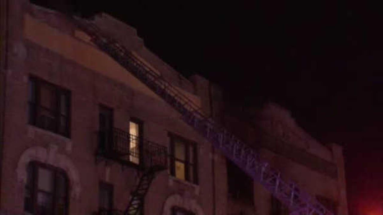 85-year-old woman seriously hurt as fire rips through Hunts Point building