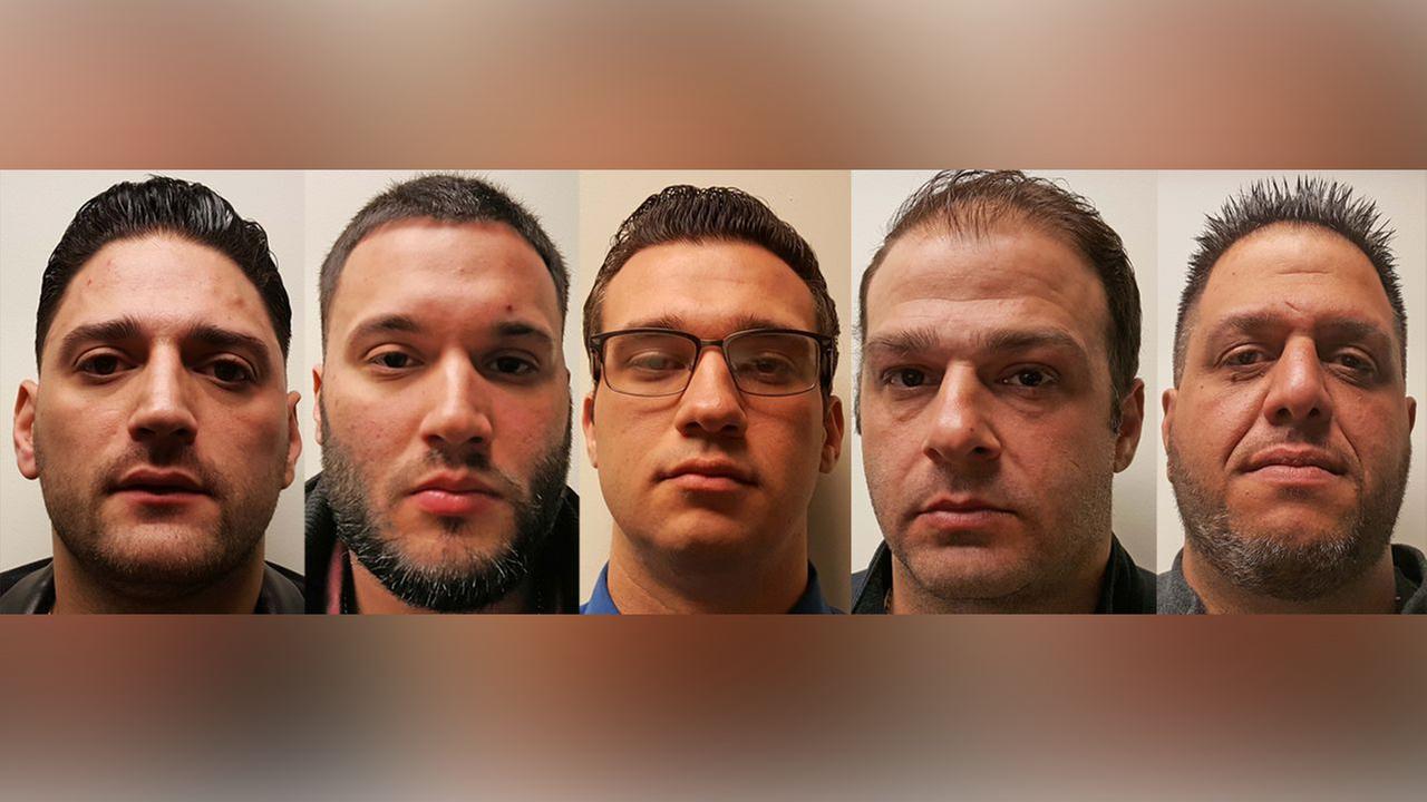 4 Belleville police officers, 1 civilian arrested after fight at bar in North Arlington