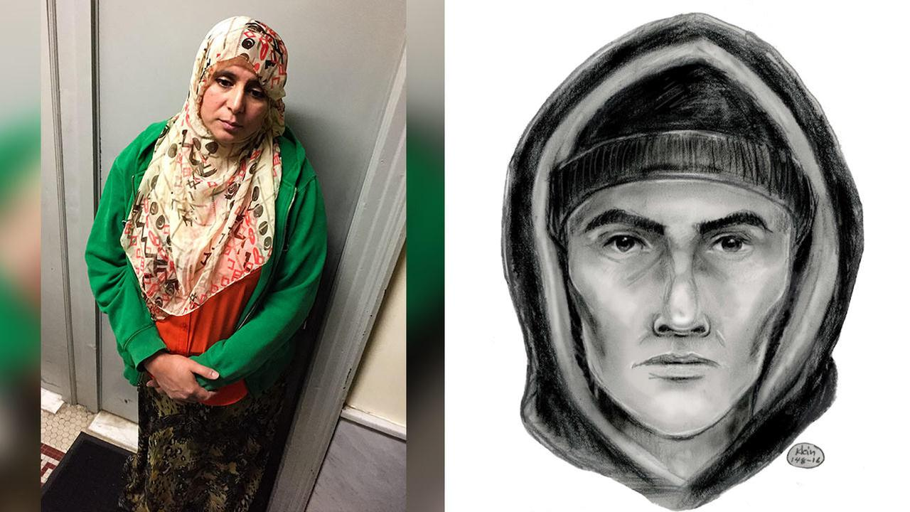 Police release sketch of man wanted for calling transit worker 'terrorist'