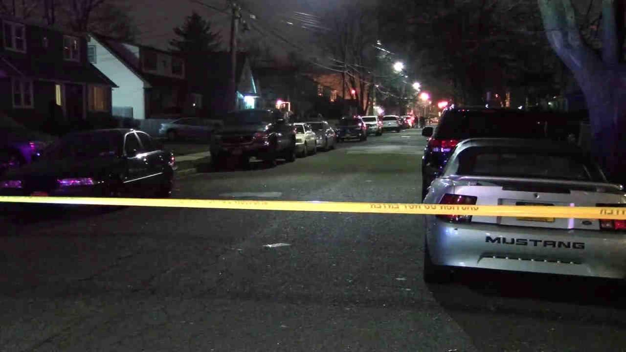 A man was shot on a residential Uniondale street, just off the Hofstra University campus Tuesday night.