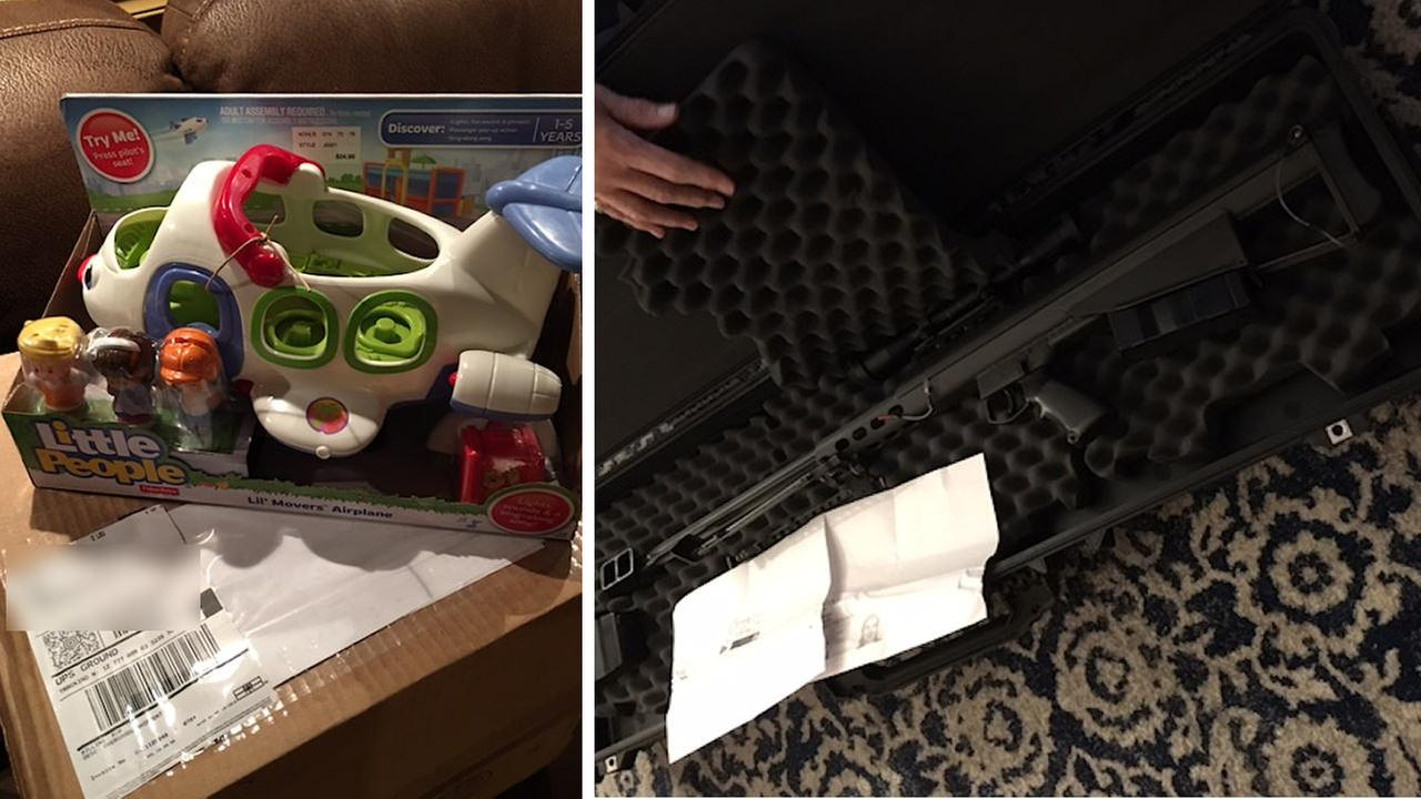 UPS delivers assault rifle instead of Long Island child's Christmas gift