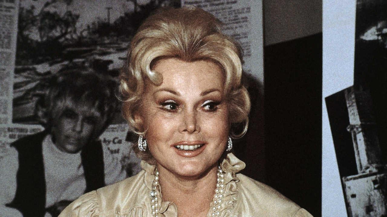 FILE - In this 1978 file photo, Hungarian-born American actress Zsa Zsa Gabor is shown.