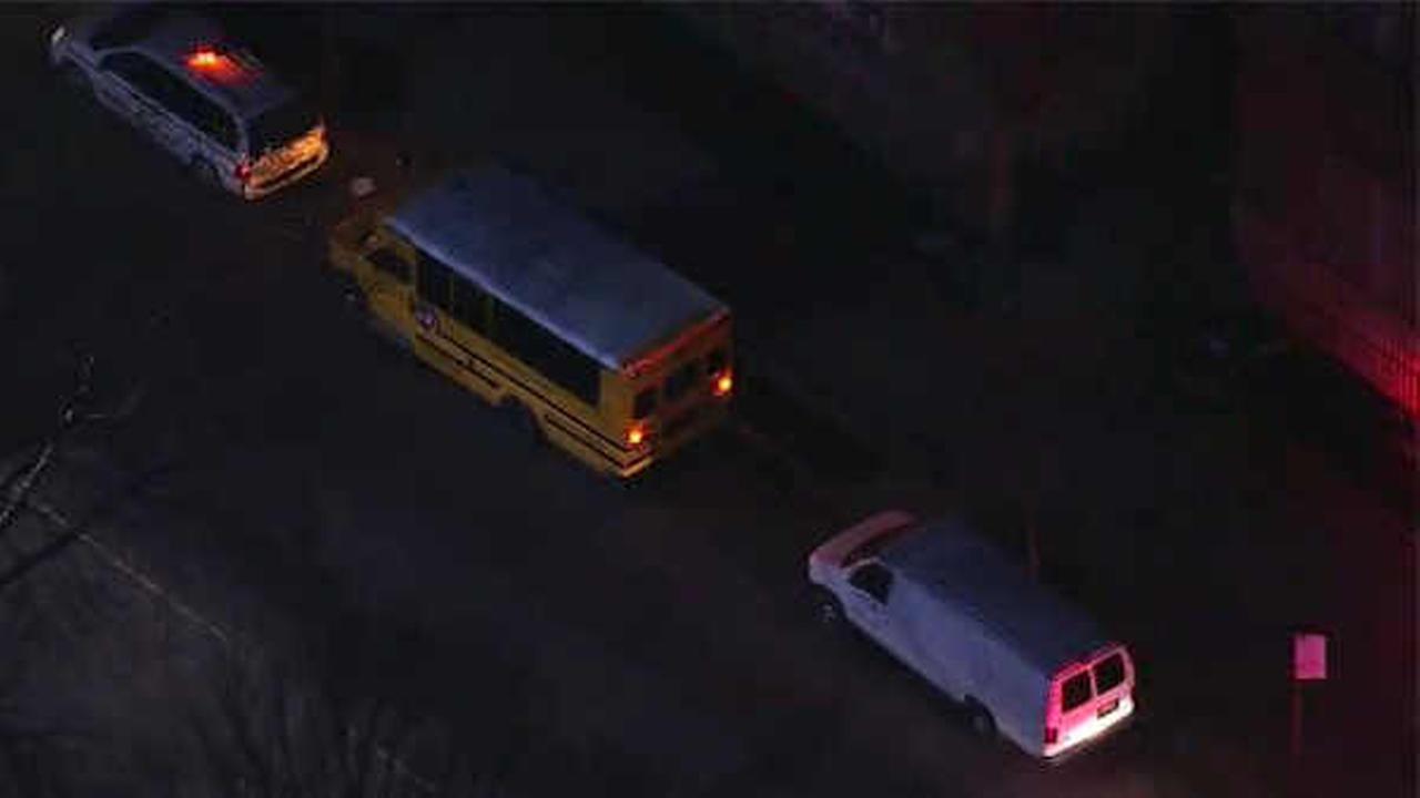 Pedestrian struck by school bus in East New York