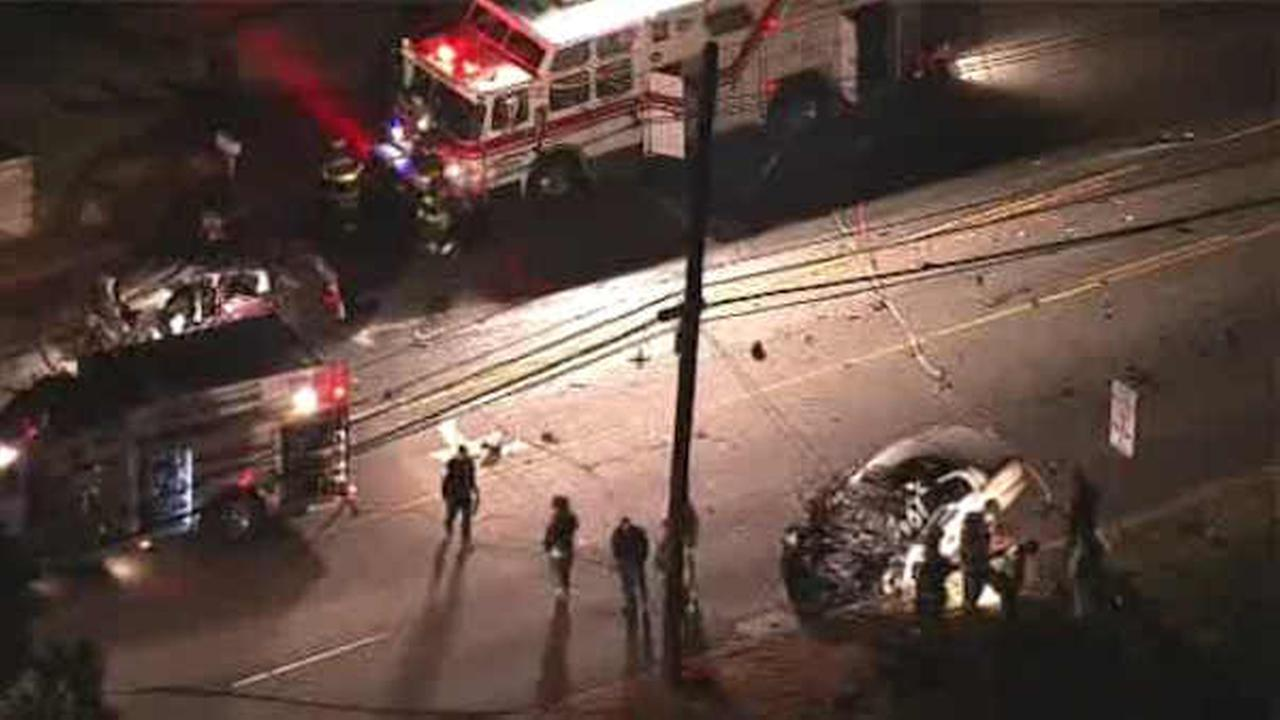 NewsCopter 7 was over the scene of a fatal crash in East Brunswick.