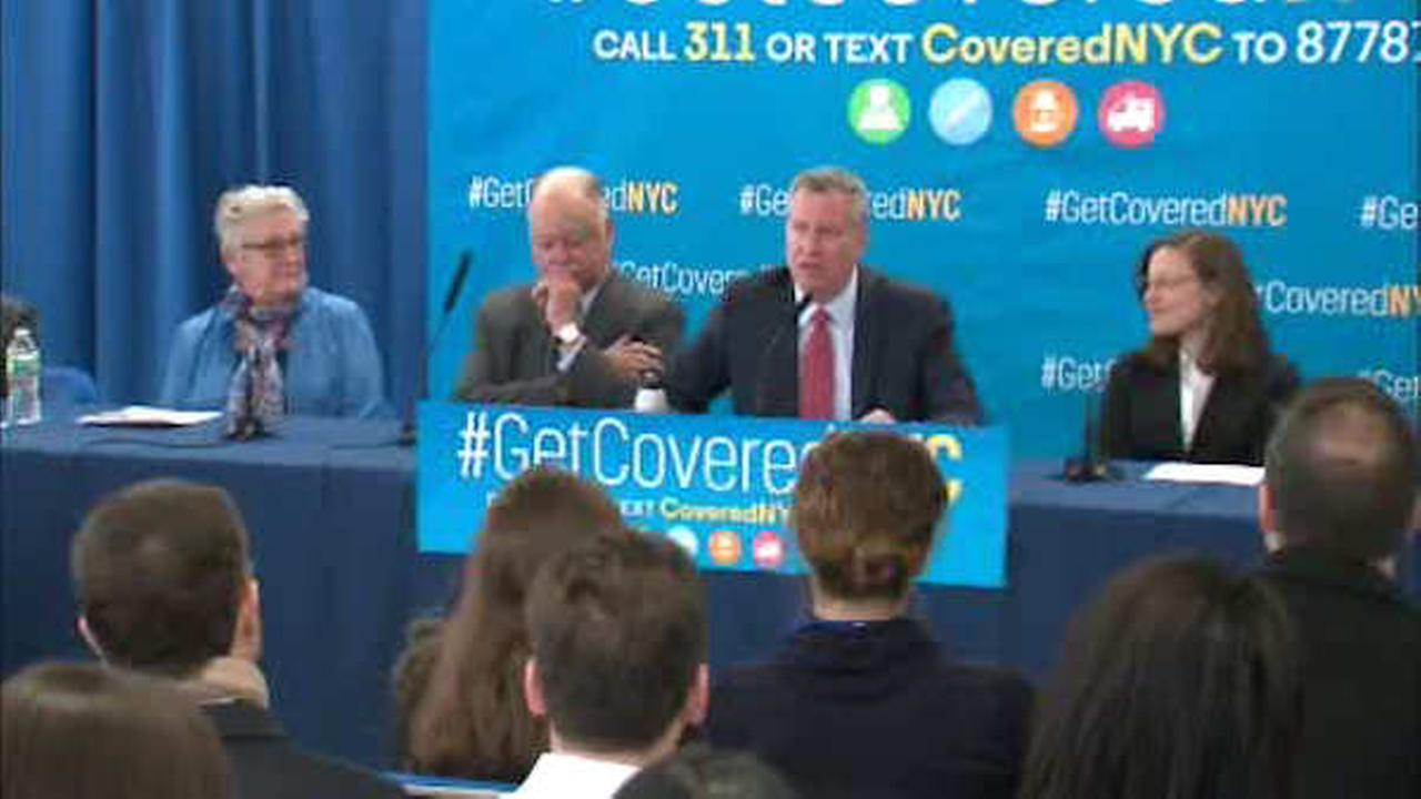 New York City launches Obamacare push, promises fight ahead of Trump presidency
