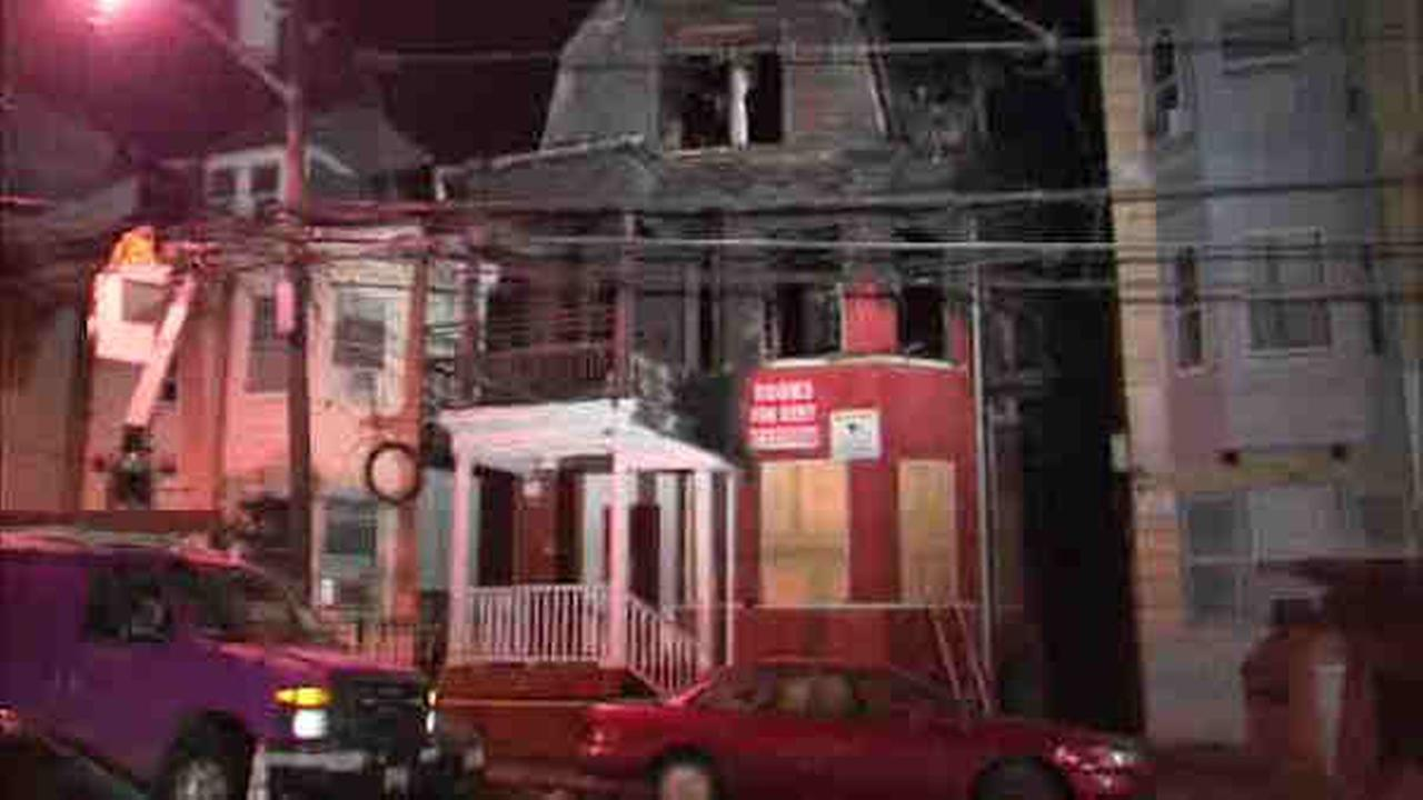 A two-alarm fatal fire at a Paterson building broke out Tuesday at 56 Park Ave., just after 7:30 p.m.