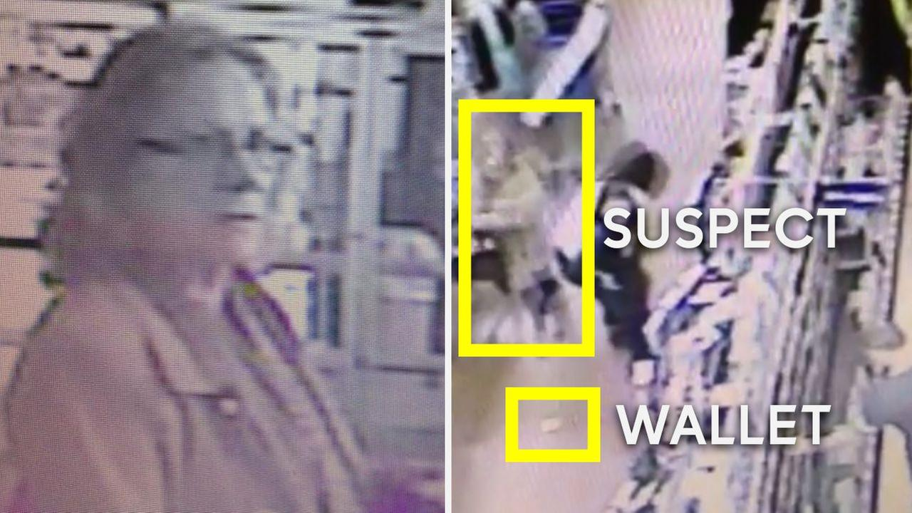Police locate woman caught on camera taking dropped wallet at Walmart in New Jersey