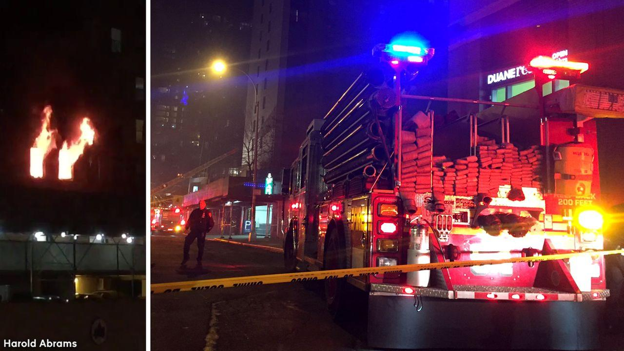 4 firefighters among 24 hurt in high-rise apartment fire in New York City