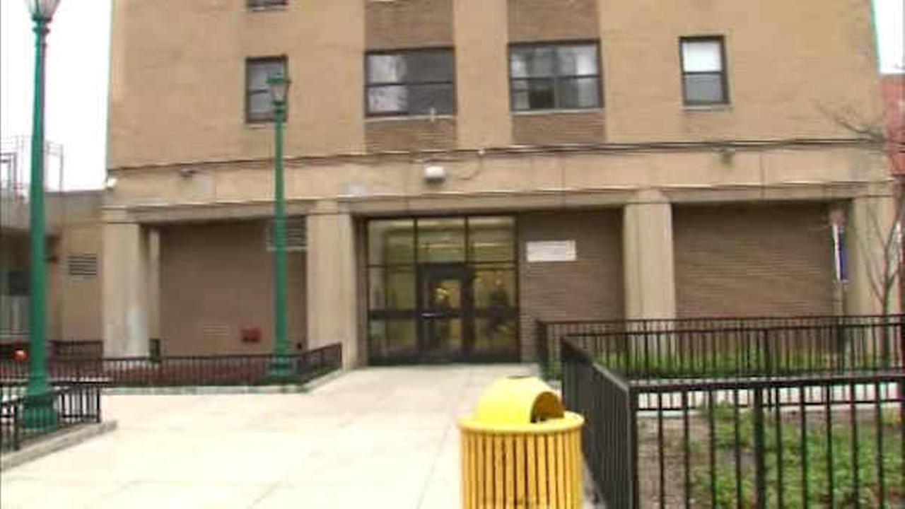 Two people were stabbed at an East Village apartment building.