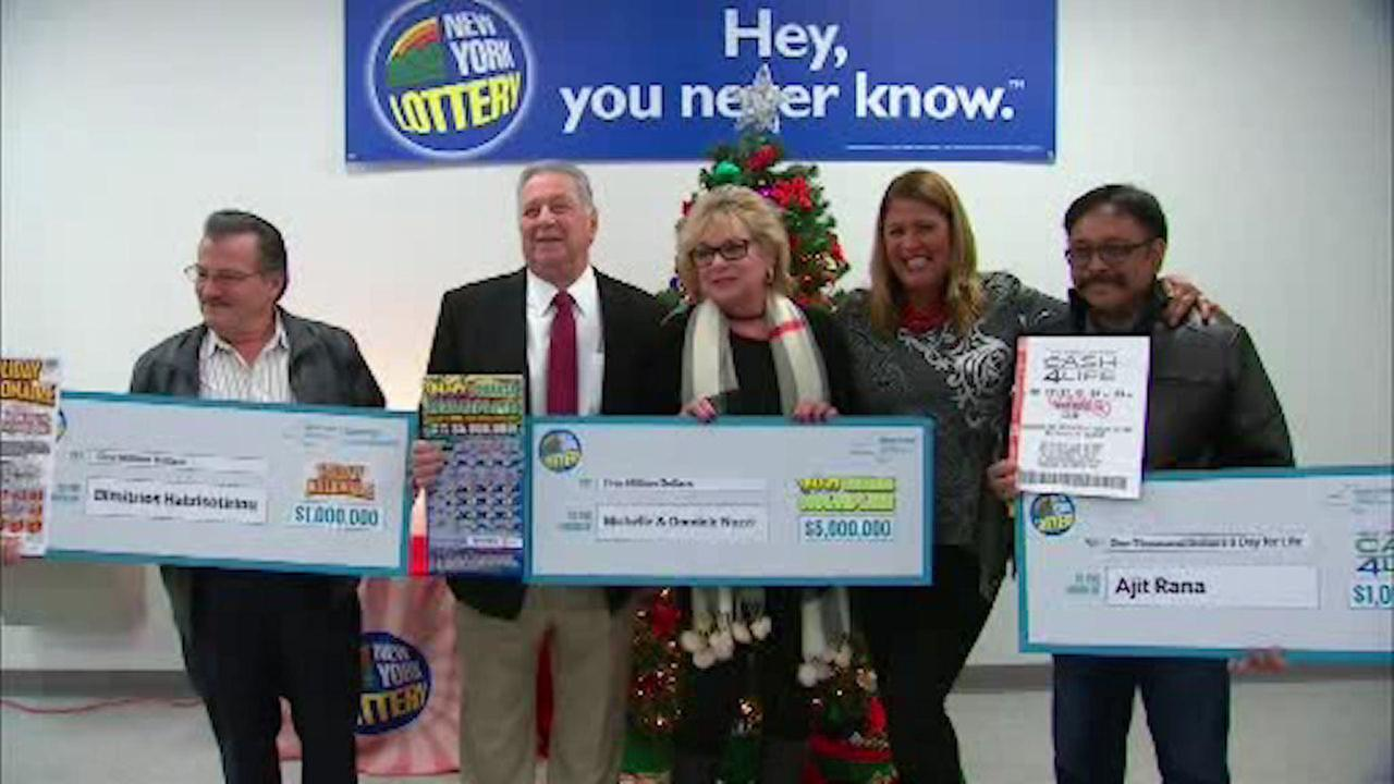 4 people strike it big with the New York Lottery