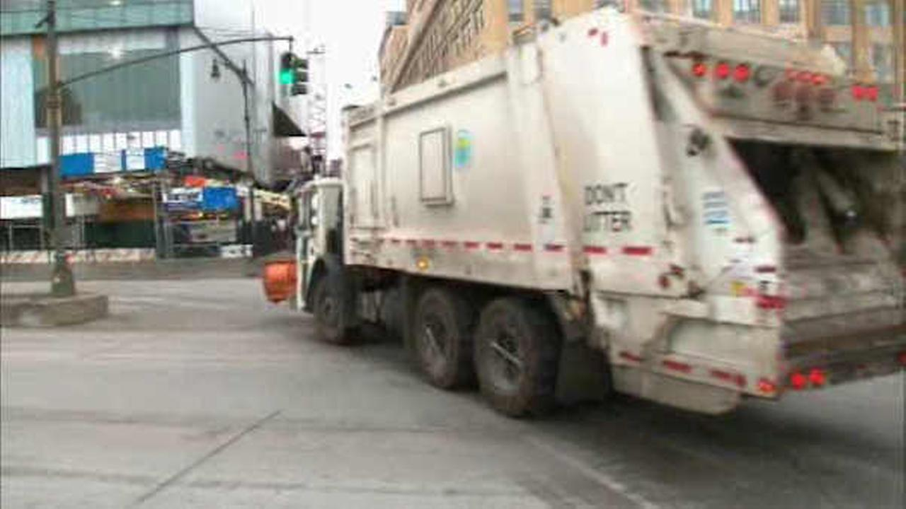 Proposed App Would Help Drivers Avoid Getting Stuck Behind New York Garbage Truck City Trucks
