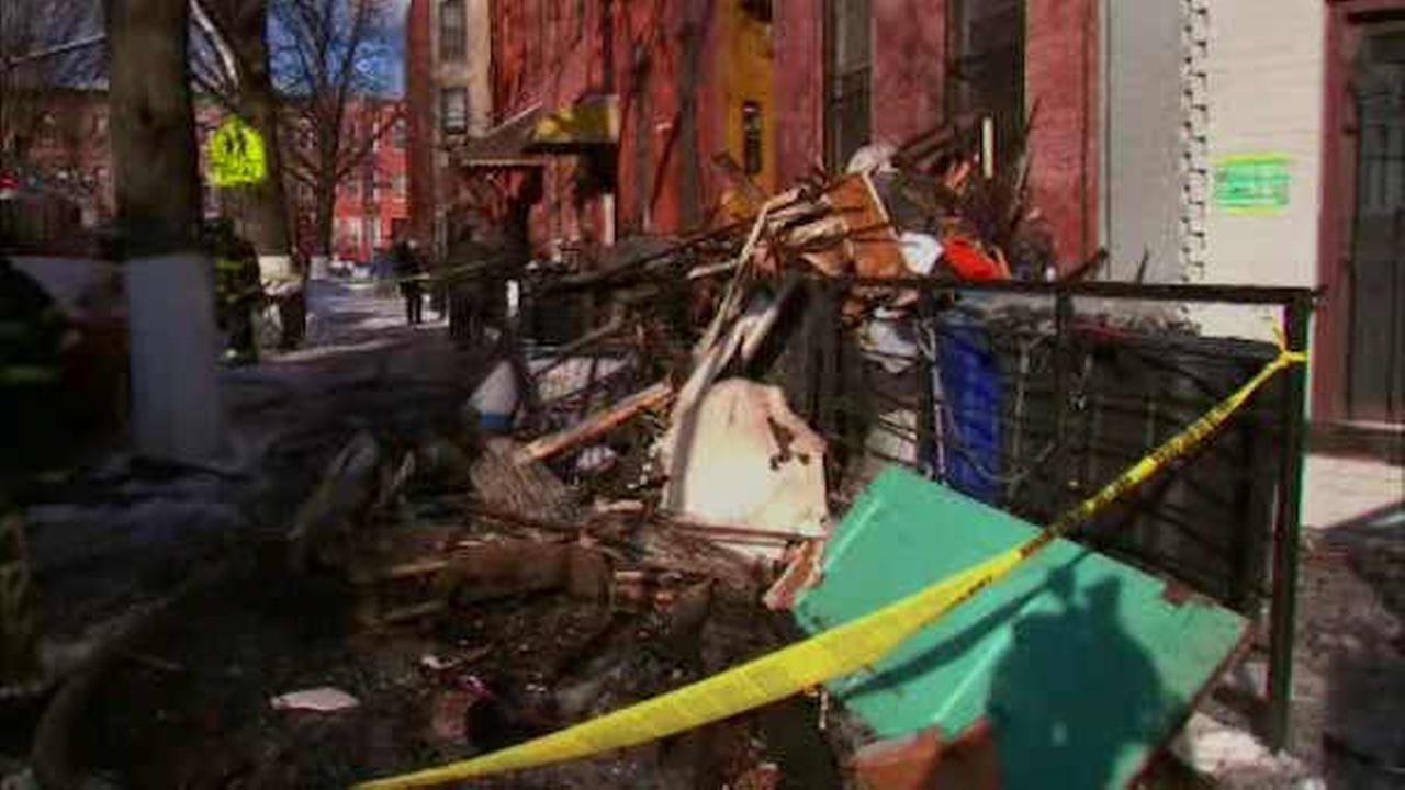 Firefighters battle 3-alarm fire at building in Bedford-Stuyvesant