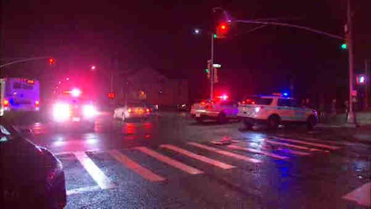 A pedestrian was hit at Beach Ninth Street and Sea Girt Boulevard in Far Rockaway Thursday morning.