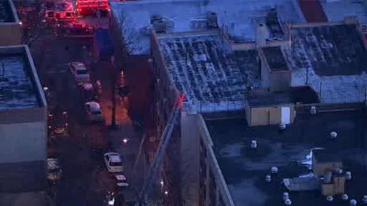 3 hurt as fire breaks out at apartment building in the Bronx
