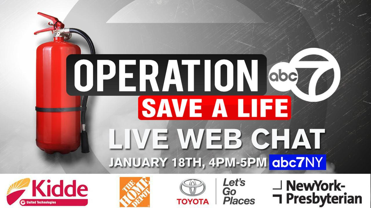 'Operation 7: Save a Life' web chat: Watch it here on abc7NY!