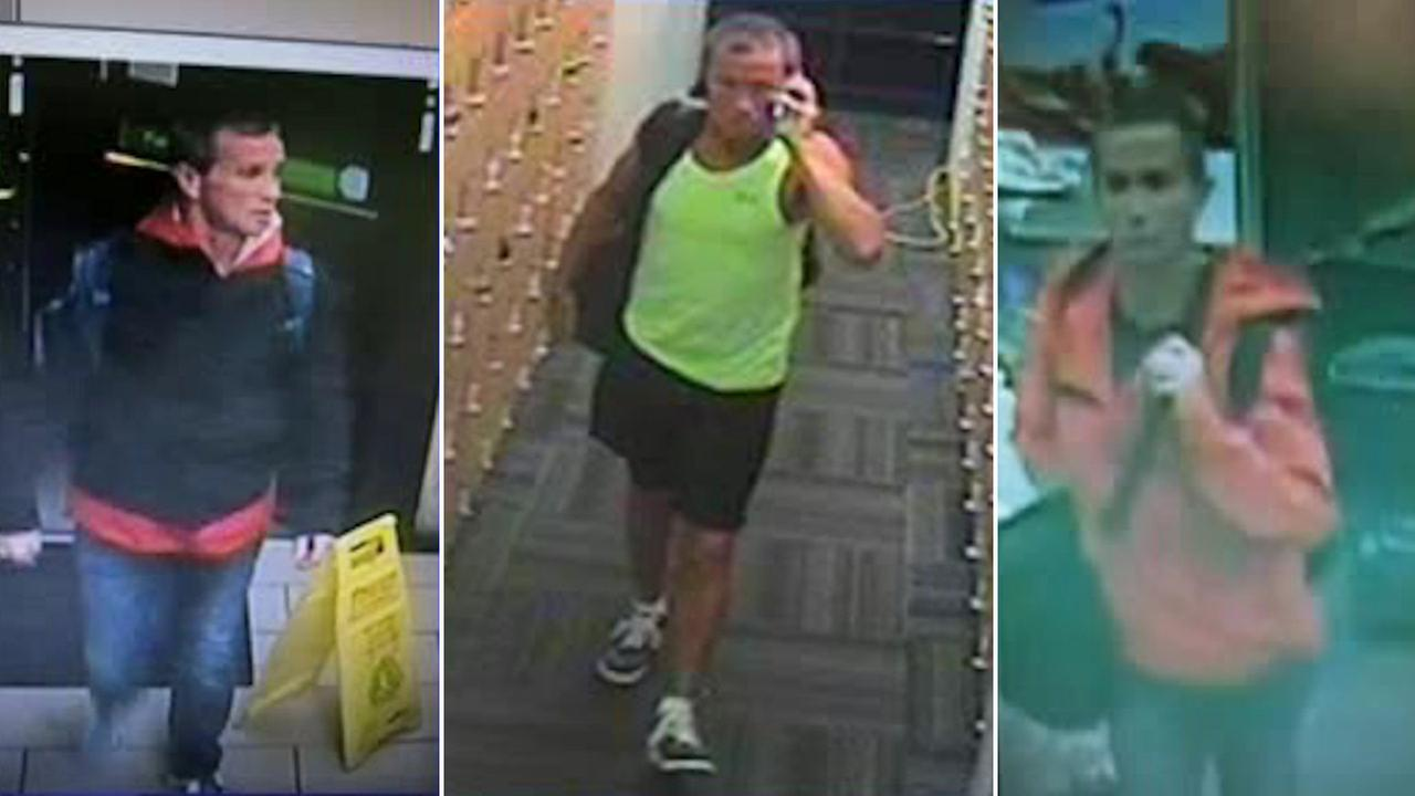 NYPD searching for serial robber of gym-goers at New York Sports Club's across Manhattan