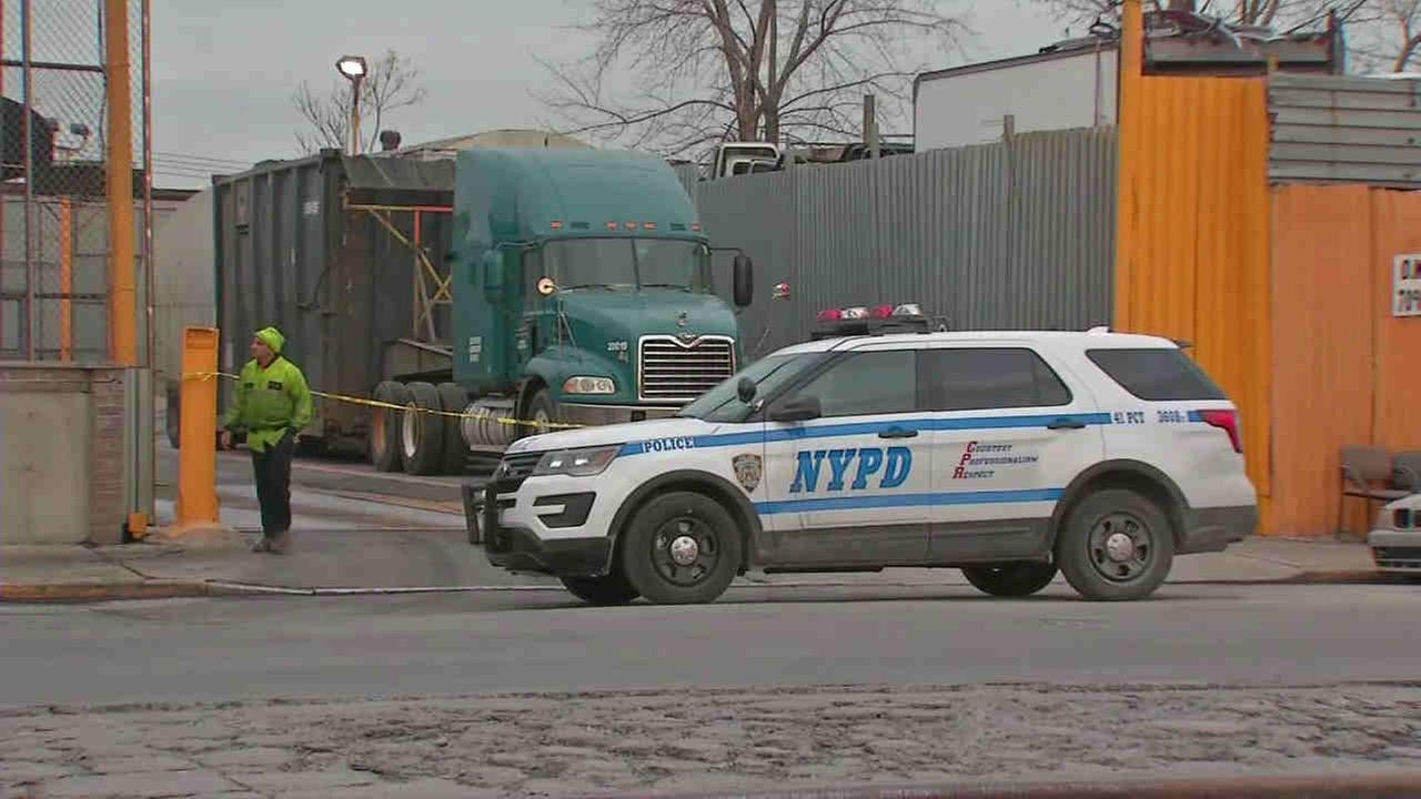 Remains of an unidentified woman were found at the Metropolitan Transfer Station in Hunts Point.
