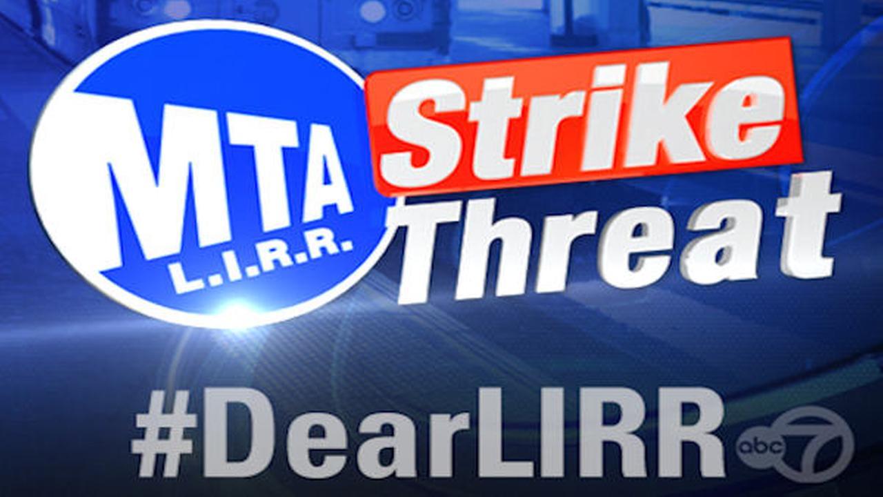 dearlirr lirr strike threat