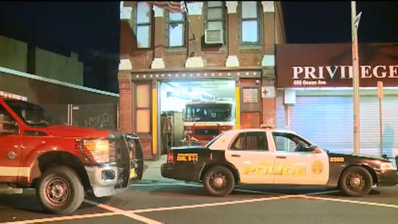 Suspect arrested in burglary of Jersey City firehouse while firefighters were battling blaze