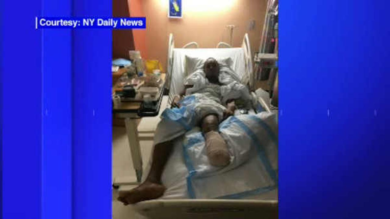 Luis Henriquez was seriously hurt when he was pushed onto subway tracks in the Bronx.