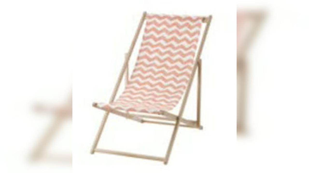 Ikea issues beach chair recall due to reports of severed finger injuries