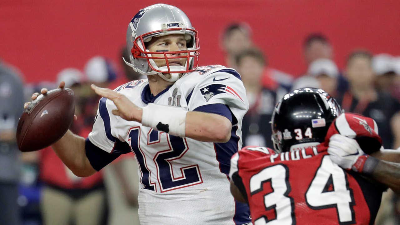New England Patriots roar back to beat Atlanta Falcons in 1st OT Super Bowl