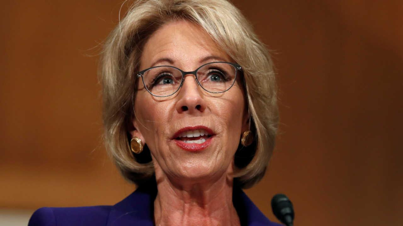 Senate confirms Betsy DeVos as Education secretary after Vice President Mike Pence breaks 50-50 tie
