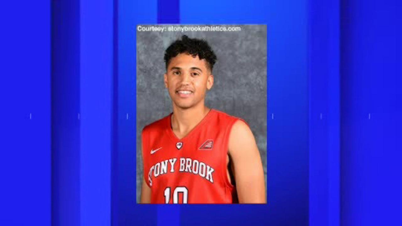 Stony Brook University basketball player charged with rape