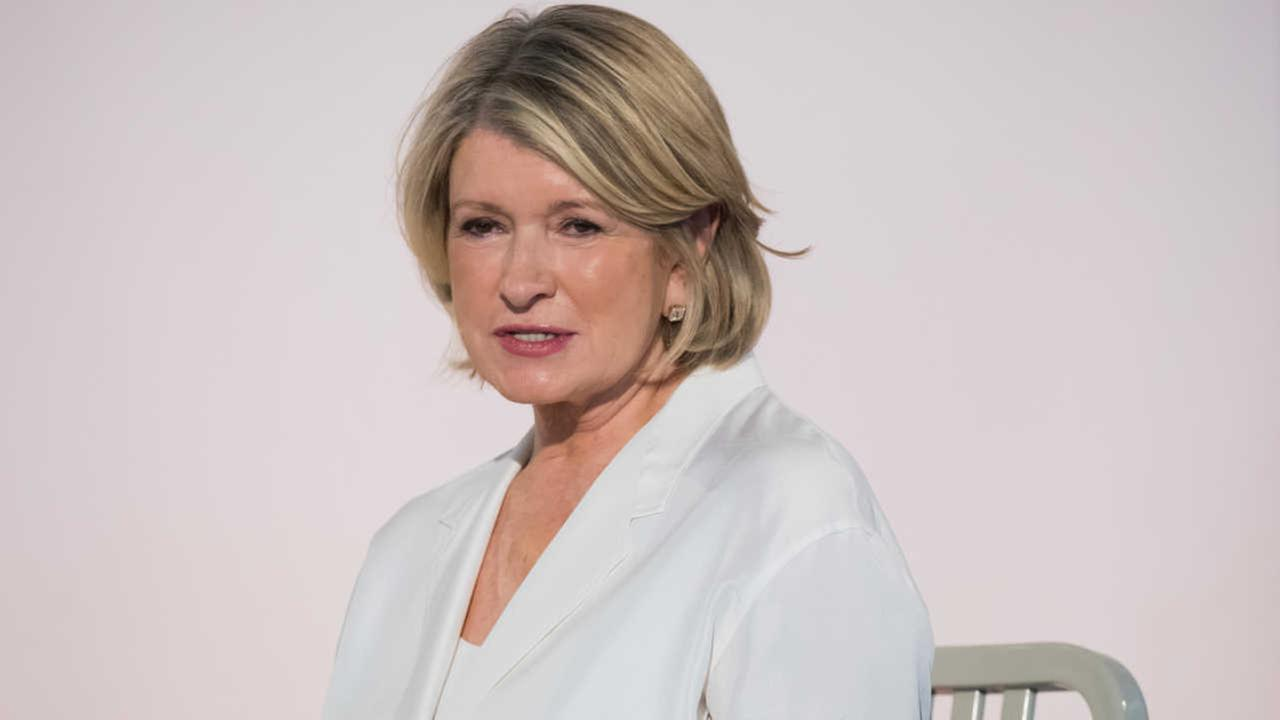 Martha Stewart got stuck in the snow, and the internet had some fun with it
