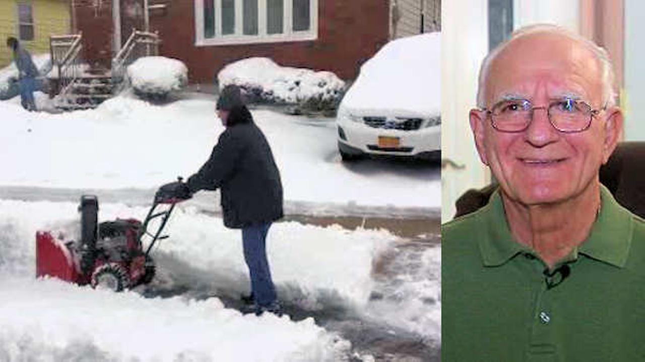Surgery can't stop 81-year-old Staten Island man from plowing neighbors' driveways