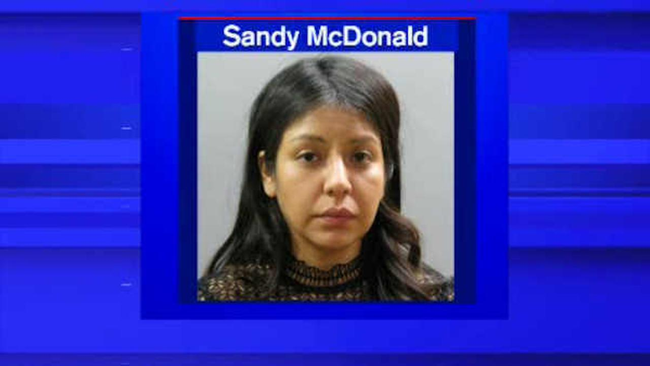 Nassau County woman charged with DWI, slamming into police car